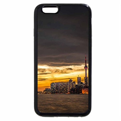 iPhone 6S / iPhone 6 Case (Black) Sunset In Toronto