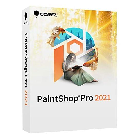 Corel PaintShop Pro 2021 | Photo Editing & Graphic Design Software | AI Powered Features [PC Disc] [Old Version]