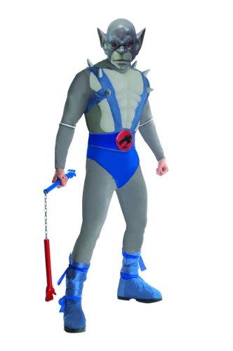 Thundercats Deluxe Panthro Costume, Blue, (Thundercats Costumes)