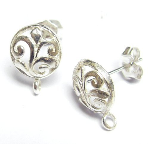 Bali Sterling Silver Connectors - 6