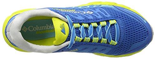 Columbia Ladies Bajada Iii Running Shoes Blue (static Blue / Zour 489)