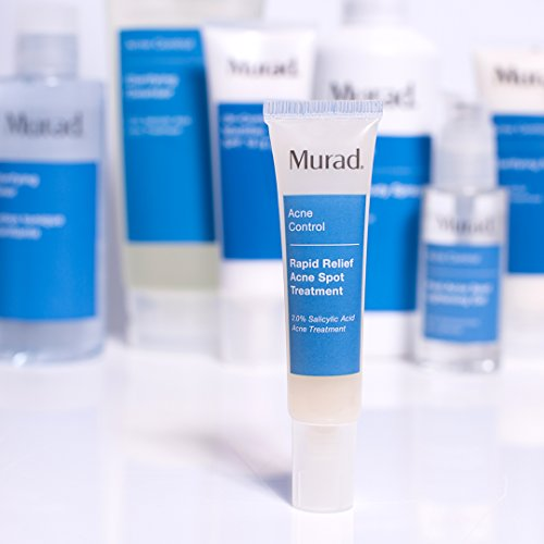 Murad Rapid Relief Acne Spot Treatment with 2% Salicylic Acid - (0.5 fl oz), Maximum Strength Invisible Gel Spot Treatment for Fast Acne Relief That Reduces Blemish Size and Redness Within 4 Hours by Murad (Image #5)