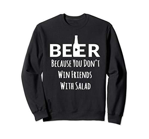 Funny Quote Craft I Heart Love Beer Pong Sweatshirt