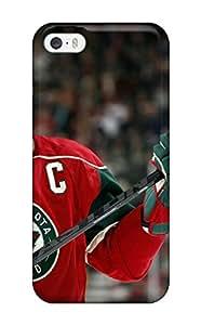 New Design Shatterproof HHApJJI6377etevJ Case For Iphone 5/5s (minnesota Wild Hockey Nhl (30) )