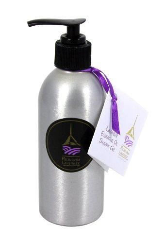 (Pelindaba Lavender Shaving Gel with Organic Lavender Essential Oil - 7 fl)