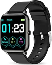 Smart Watch, KALINCO Fitness Tracker with Heart Rate Monitor, Blood Pressure, Blood Oxygen Tracking, 1.4 Inch