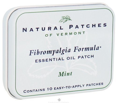 Naturopatch of Vermont Muscle and Nerve Comfort Essential Oil Body Patches, Mint, 2.6 Ounce by Naturopatch Of Vermont ()