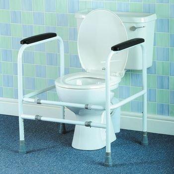 Homecraft Adjustable Toilet Surround - Model 557477 by Homecraft