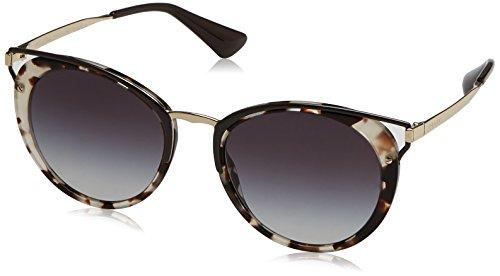 Spotted Grey 66TS PR Prada Brown Marrón Sonnenbrille Opal qBIggw
