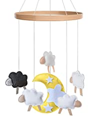 Cot Baby Mobile for Boys + Girls by i love bub (Baa Baa Black Sheep)