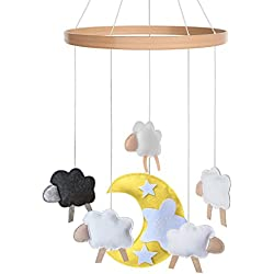 Baby Crib Mobile - Toys Perfect for Boys + Girls by i love bub (Baa Baa Black Sheep)