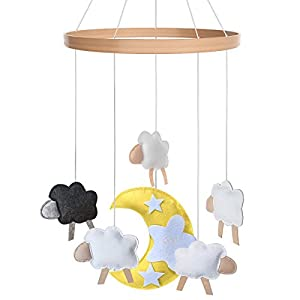 Baby Crib Mobile – Toys Perfect for Boys + Girls by i love bub (Baa Baa Black Sheep)