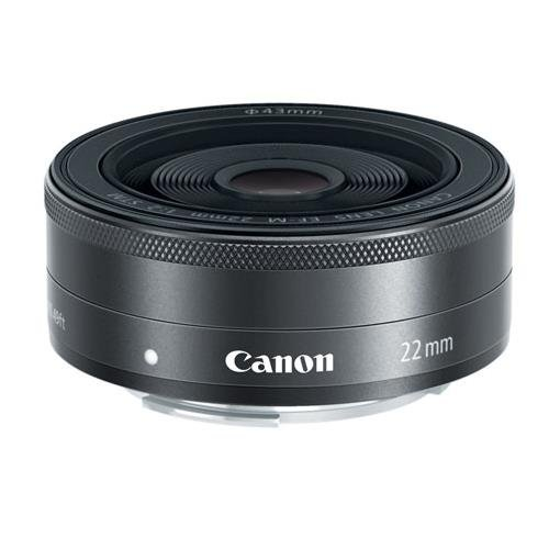 Canon EF-M 22mm f2 STM Compact System Fixed Lens (Eos M Lens)