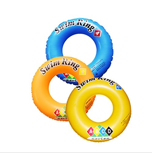PVC ABCD pattern Adults Safety Inflatable Floats Pool Toys Swimming Ring Swim Pool Circle Buoy Float Laps,Outer diameter 90 cm