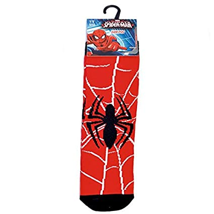 Marvel - Ultimate Spider-Man - Calcetines - Rojo - 31/36