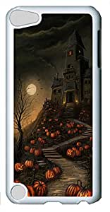 iPod Touch 5 Cases & Covers - Halloween Haunted House Custom PC Soft Case Cover Protector for iPod Touch 5 - White