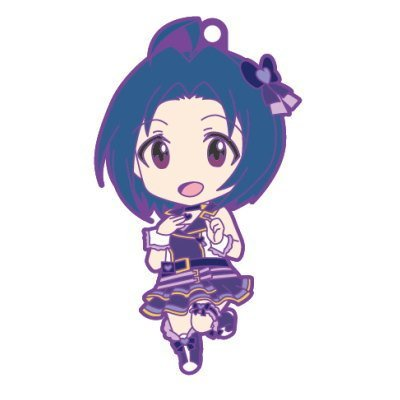 Nendoroid Plus rubber strap The Idolmaster One For All 765PRO ALLSTARS stage B [1. Azusa Miura] (single)