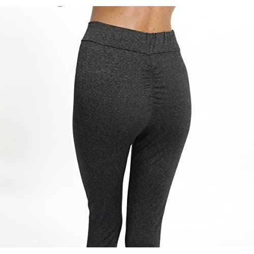 f277ed17f6c6a Joyshaper Women's High Waist Yoga Pants Back Ruched Leggings Tummy Control Workout  Running Gym Trousers