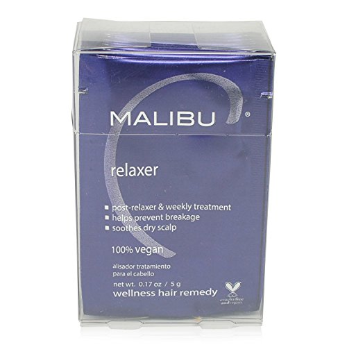 Malibu Relaxer/Straightener Pre & Post Treatment 12 packets