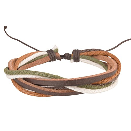 insten-handmade-fashion-leather-braided-bracelets-green-and-brown