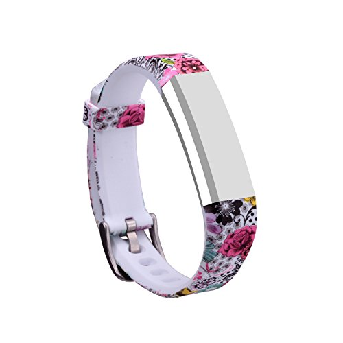 I-SMILE Newest Replacement Wristband With Secure Clasps for Fitbit Alta Only