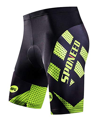 sponeed Men's Road Bike Shorts Triathlon Biking Short Tights