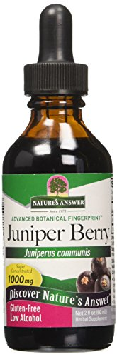 Berry Organic Alcohol (Nature's Answer Juniper Berry with Organic Alcohol, 2-Fluid Ounces)