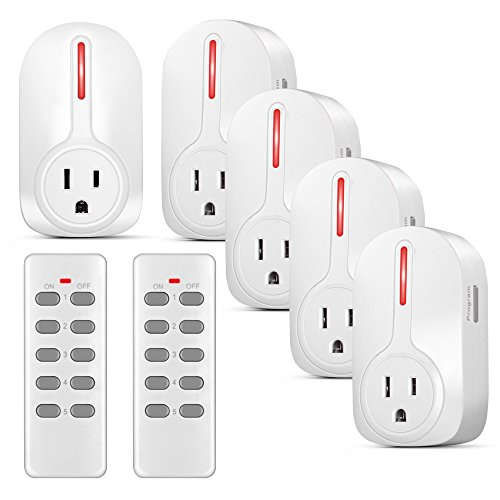 Wireless Outlet Switch Remote Control