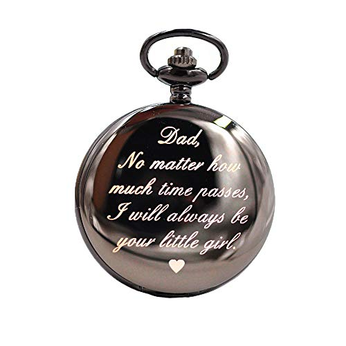 Gifts for Dad Xmas Gifts- to My Dad Best Gift from Son Daughter for Christmas, Birthday | Pocket Watch for him ...