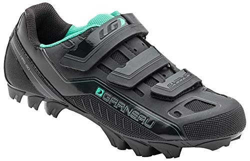 Louis Garneau Women's Sapphire MTB Bike Shoes, Black, US (8), EU (39)
