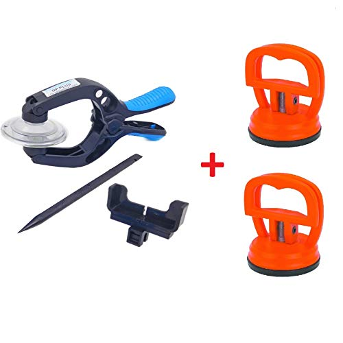 Screen Opening Tool Touch LCD Screen Opening Pliers Splitter with Strong Swivel Suction Cups Repairing Tools Separator for Apple iPhone/iPod/iPad, Samsung Galaxy, Smartphone Plus Note