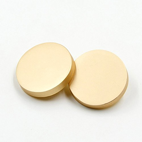 10PCS Metal Flat Button Women Suit Woolen Coat Button Male Jacket Button Shirt Suit Trousers Button Round Shaped Sewing Button (23mm, Matte - Buttons Matte