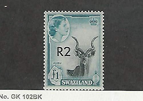 Swaziland, Postage Stamp, 79 Mint LH, 1961 Animal Kudu, DKZ