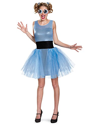 Disguise Women's Bubbles Deluxe Adult Costume, Blue, Teen/Juniors -