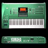 YAMAHA EX7 - Large Sound Library Original Samples on CD