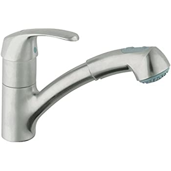 Alira Single Handle Pull Out Kitchen Faucet Touch On