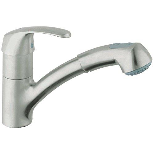 Alira Single-Handle Pull-Out Kitchen Faucet - Edge Kitchen Faucet