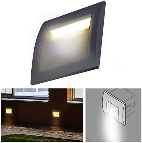 ByLED Foco LED Empotrado Pared Impermeable 3 W quark-40 – Blanco ...