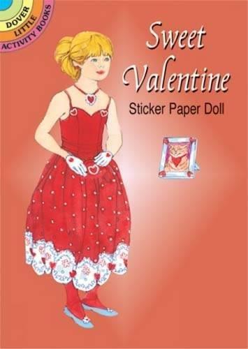 Sweet Valentine Sticker Paper Doll (Dover Little Activity Books Paper -