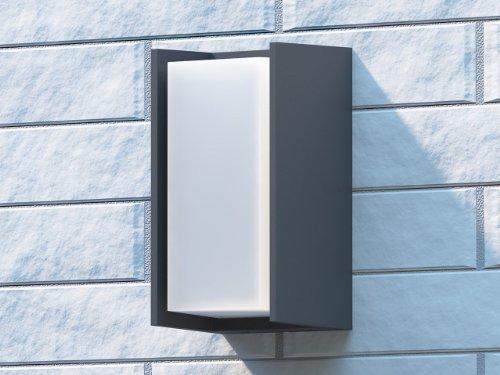 Philips ecomoods bridge outdoor wall light anthracite includes