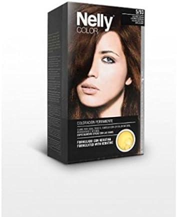 NELLY TINTE N.5/93 CASTAÑO DORADO: Amazon.es: Belleza