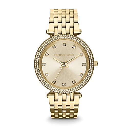 Michael Kors Women's MK3216 Darci Yellow Gold Stainless Steel Watch ()