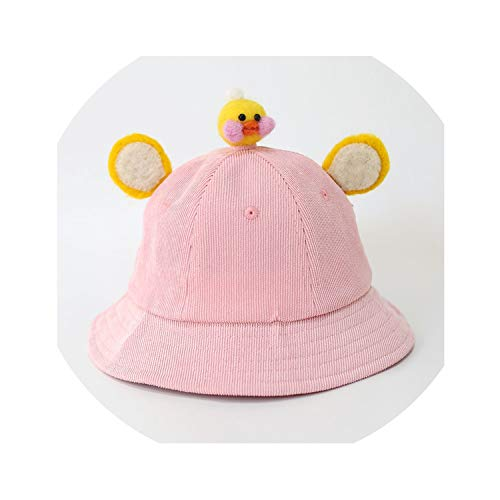 Novelty Kid Cute Corduroy Bean Sprouts Fisherman Hat Winter Fashion Girl Cartoon Warm Hat Halloween Christmas Party Hat Cap,8,XS]()