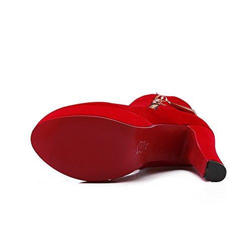 BalaMasa Sandales BalaMasa femme Sandales Red Compensées qSxw71