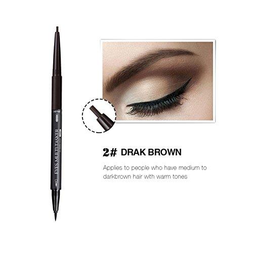 Long Lasting Eyebrow Tattoo Pencil Liner ,Woya Waterproof Eyebrow Makeup (A04)