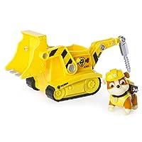 Paw Patrol - Excavadora de excavación de escombros - Figura y vehículo