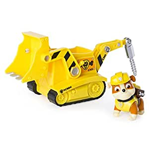 Paw Patrol Rubble's Digg'n Bulldozer (works with Paw Patroller)