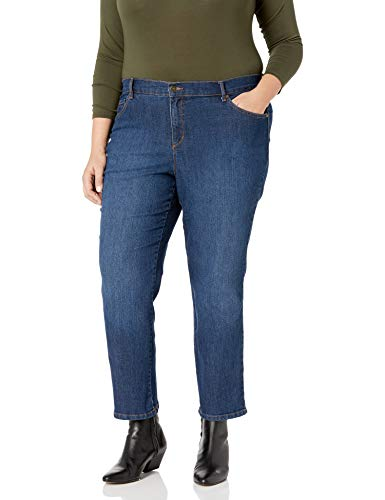 Gloria Vanderbilt Women's Petite Amanda-Classic Straight Leg Jean, Scottsdale Wash, 12P