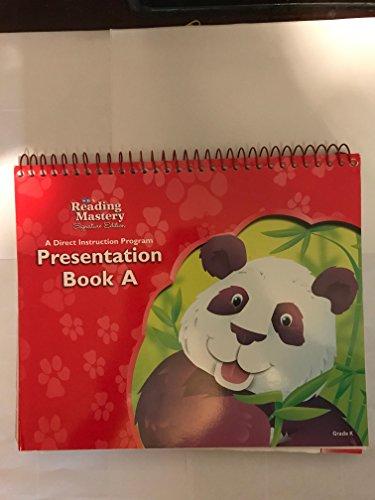 SRA Reading Mastery Signature Edition A Direct Instruction Program Presentation Book B Grade K