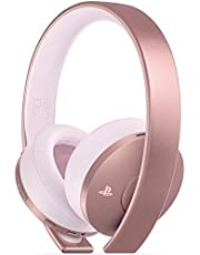 PlayStation 4 Gold Wireless Headset: Rose Gold Edition - PlayStation 4